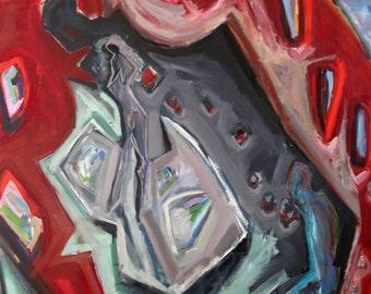 Abstarct art painting