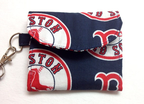 The Batter Up: Wallet (Boston Red Sox Print)