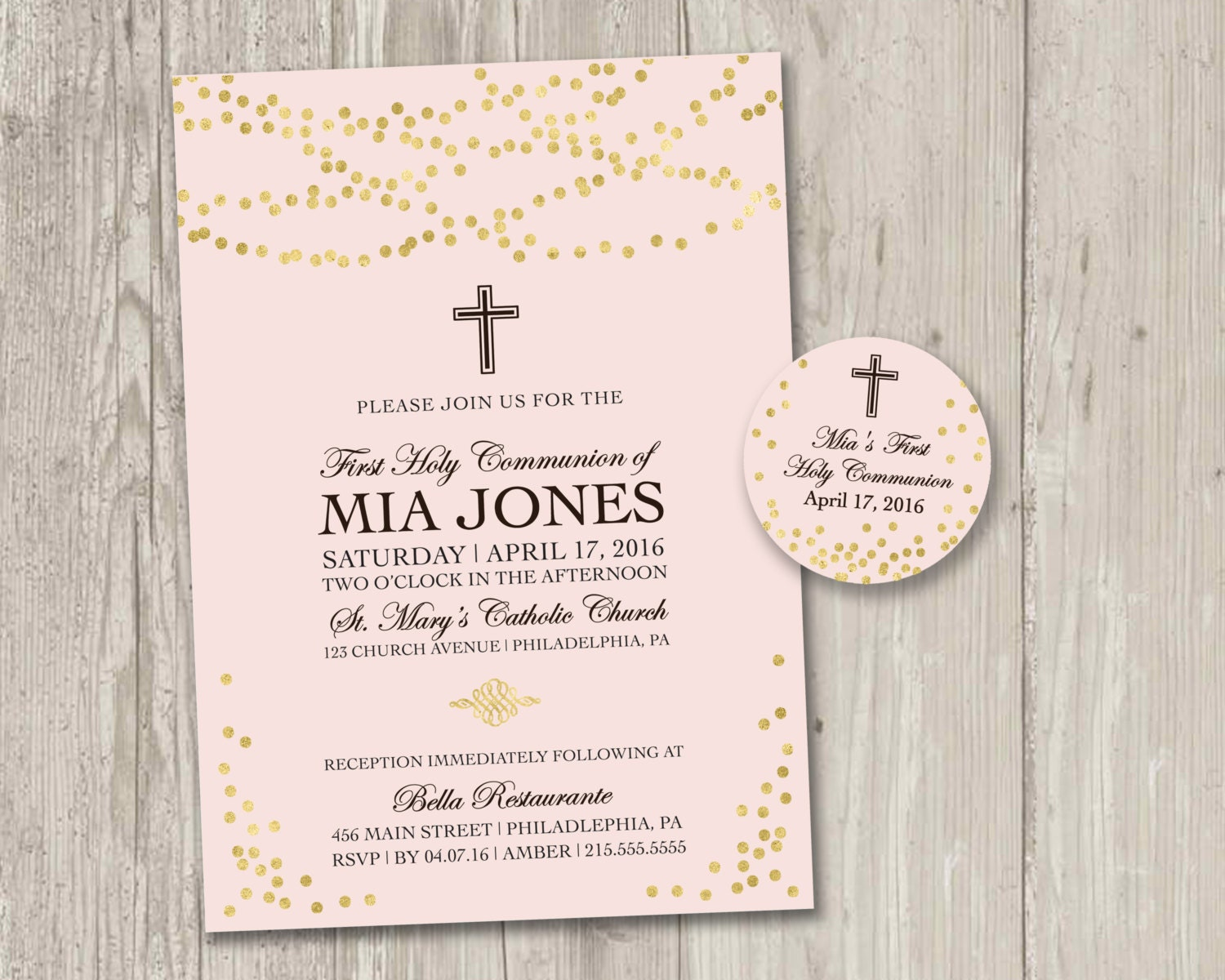 Dynamite image within first communion invitations free printable