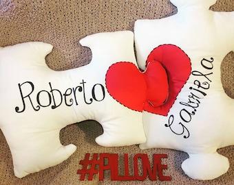 Puzzle Pieces Pillows