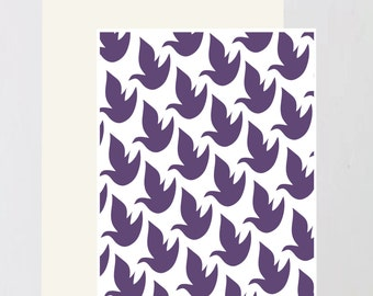 Dove print Greeting Card