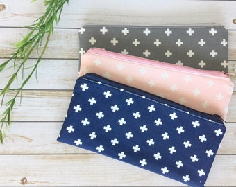 Cross Pencil Pouch Pen Pouch Pencil Case Back To School Supply Pouch Small Makeup Bag Travel Pouch Accessory Bag Gifts For Her