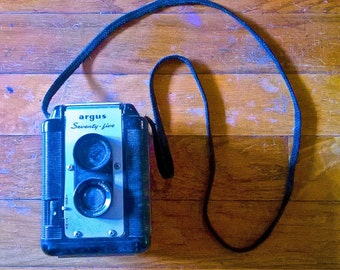 1950s Argus Seventy-Five Box Camera with Strap