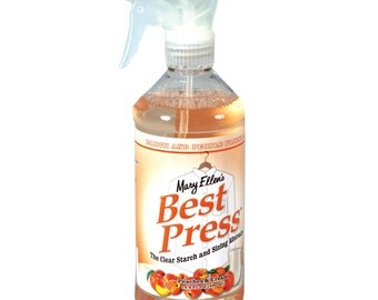 Mary Ellen's Best Press The Clear Starch and Sizing Alternative Peaches and Cream 16.9 FL OZ