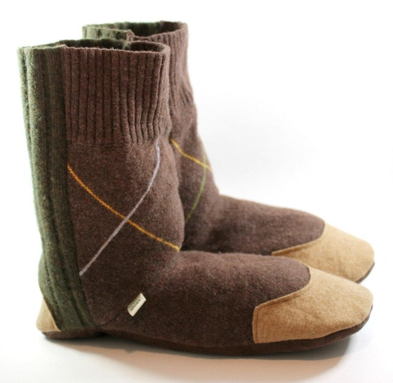 RTS Mens Gift Idea Mens Slipper Boots House Shoes College
