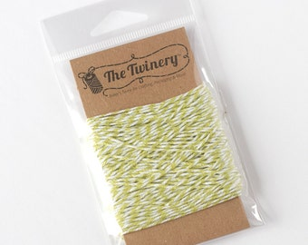 The Twinery Twine - Honeydew Green