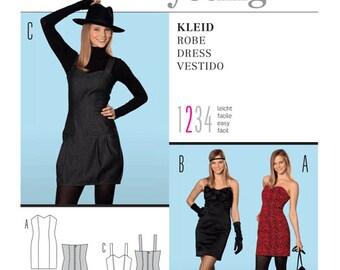 OUT of PRINT Burda Pattern 7460 Misses Dress