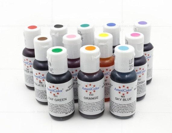 Food Coloring Paint Edible Cream Baking Pigment Fondant Cake ...