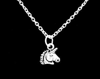 Unicorn Mythical Creature Charm Necklace