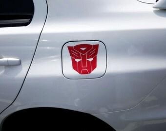 Transformers Autobot Car Vinyl Decal Sticker