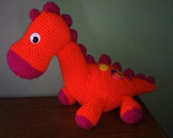 Crochet Plush dinosaur