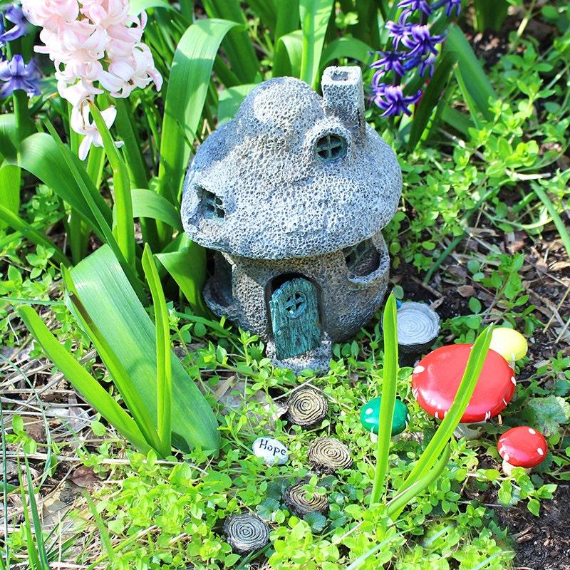 fairy garden kit mushroom fairy garden