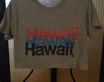 Vintage 70s or 80s Hawaii Half-shirt