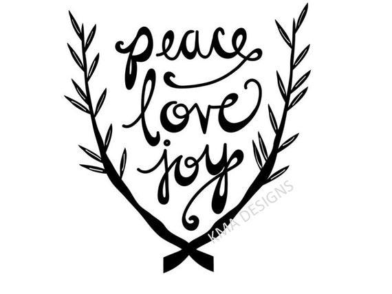 2287+ Peace Love Joy Svg SVG Design