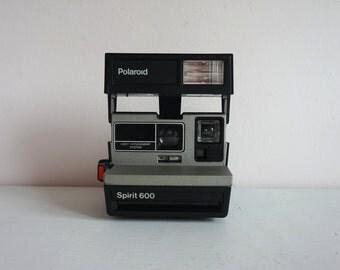 Vintage Polaroid Spirit 600 Instant Film Camera// Light Management System Polaroid// Film// Photography