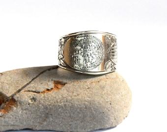 north dakota ring, spoon ring, american ring , north dakota state ring