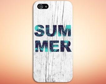 SUMMER Palms x White Wood Design Phone Case, iPhone 7, iPhone 7 Plus, Tough iPhone Case, Galaxy s8, Samsung Galaxy Case Note 5 CASE ESCAPE