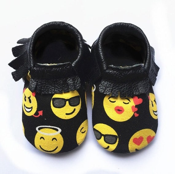 Emoji Costume Child  Moccasins