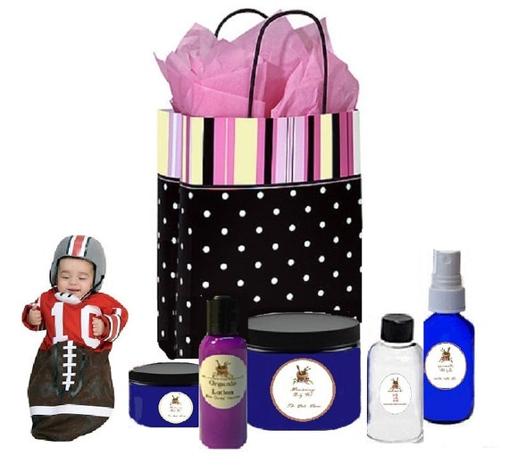 Mother And Baby Gifts Delivered Uk : New dad and mom postpartum baby boy gift basket by