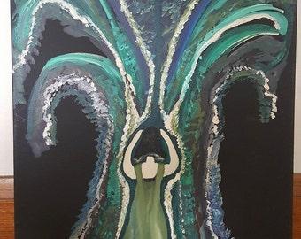 Acrylic Painting-Original-Ofelia