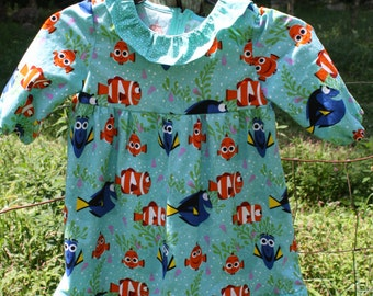 Girls size 5 Finding Dory Dress