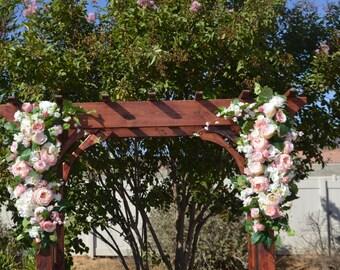 Arch Flowers, Wedding arch flowers, Arch Corner pieces, Wedding Pieces