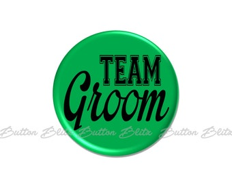 Bachelor Party Pin, Team Groom Button, Bachelor Party Favor, Wedding Party Badge, Groomsmen Pinback Buttons, Wedding Party Gift - BB2516