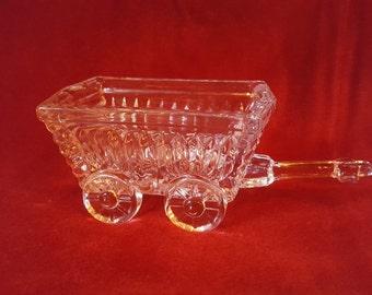 Lead Crystal Wagon