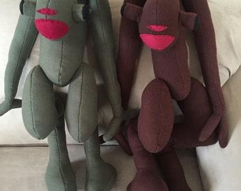 Half Life 2 Vortigaunt Made-to-Order Fleece Plush Toy