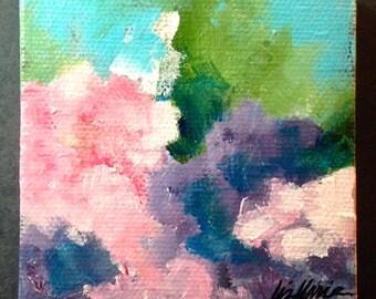 Original Art Hydrangea  Painting
