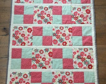 Baby Girl Patchwork Quilt