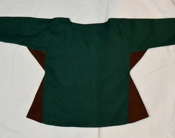 Viking Child Tunic, Kids Size Shirt Reconstruction Based on Birka and Hedeby Finds,Viking Clothing, Living History