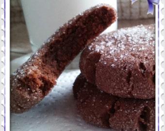 Brownie Batter Cookies  1 Dozen Gourmet
