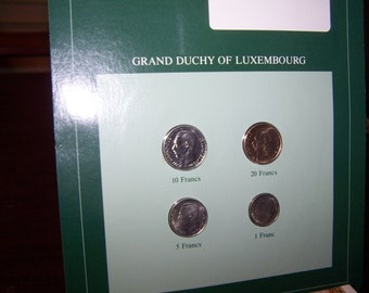 Franklin Mint Coins of All Nations -- Grand Duchy of Luxembourg      SHIPPING INCLUDED