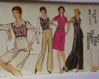 Vintage sewing pattern. Vogue 8344