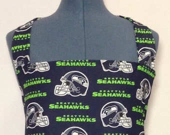 Seattle Seahawks- Full Size BBQ Apron with Pockets