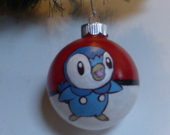 Pokemon Piplup Ornament