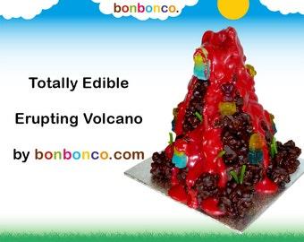 Chocolate Erupting Volcano Kit by Bonbonco.com