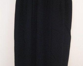 Vintage Donna Karan Long Skirt with Side Slit