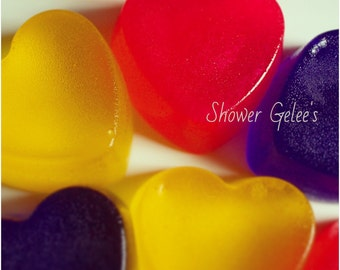 Shower Gelee's, Jelly Soap, Jello Soap, ShowerJelly, Choose Your Fragrance