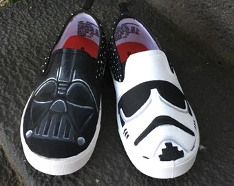 Star Wars Inspired Handpainted Shoes