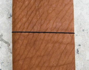 Brown Leather Notebook / Journal
