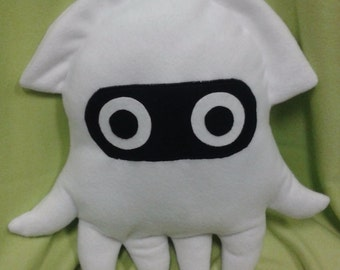 Super Mario Blooper (squid) plushie/cushion