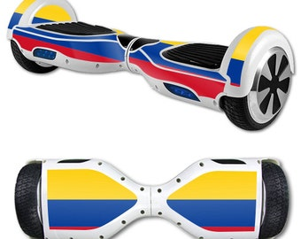 Skin Decal Wrap for Self Balancing Scooter Hoverboard unicycle Colombian Flag
