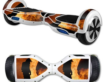 Skin Decal Wrap for Self Balancing Scooter Hoverboard unicycle Fire Fighter