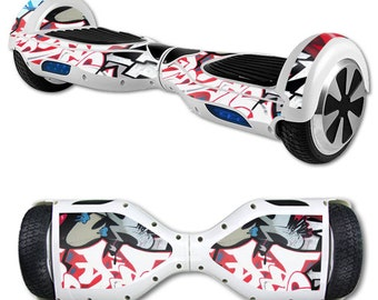 Skin Decal Wrap for Self Balancing Scooter Hoverboard unicycle Graffiti Mash Up