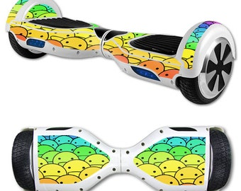 Skin Decal Wrap for Self Balancing Scooter Hoverboard unicycle Happy Faces