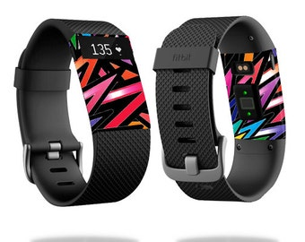 Skin Decal Wrap for Fitbit Blaze, Charge, Charge HR, Surge Watch cover sticker Color Bomb
