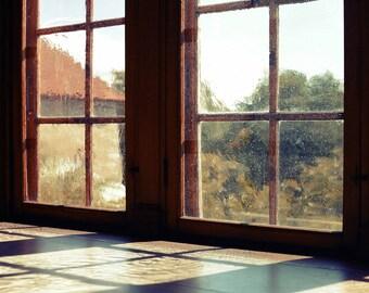 Oslo Windows, original fine art photography, print, norway, fortress, painting, old, colour, vintage, art, shadow, dark