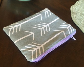 Arrow Print Notions Pouch!
